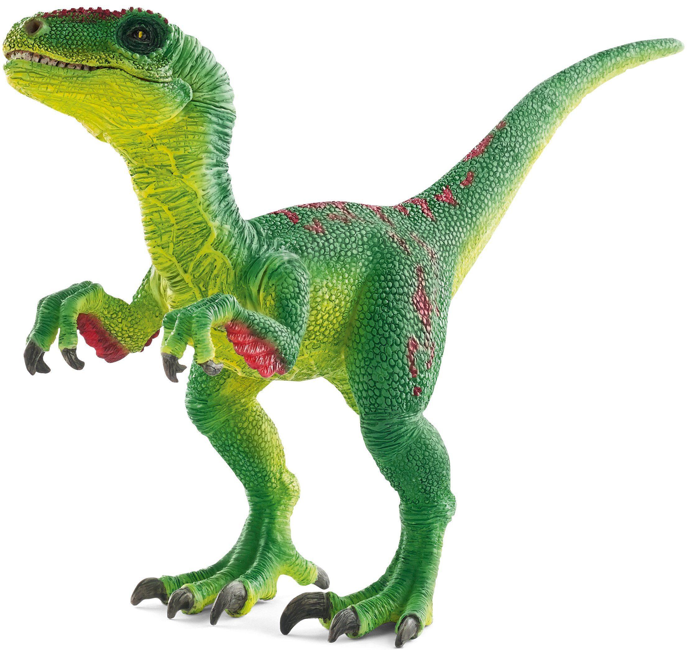 Schleich® Spielfigur (14530), »Dinosaurs, Velociraptor, grün«