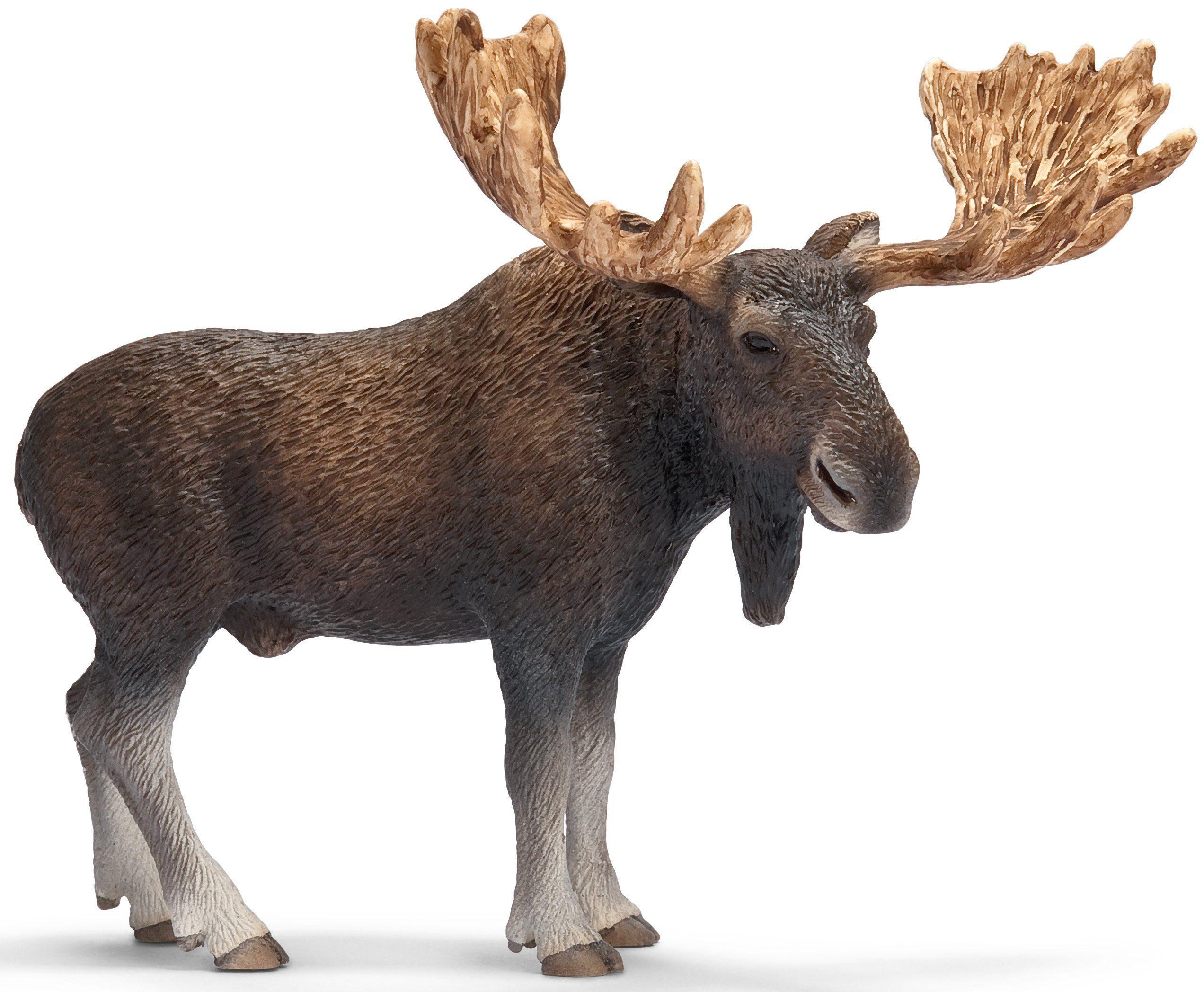 Schleich® Spielfigur, »Wild Life, Elch Bulle«