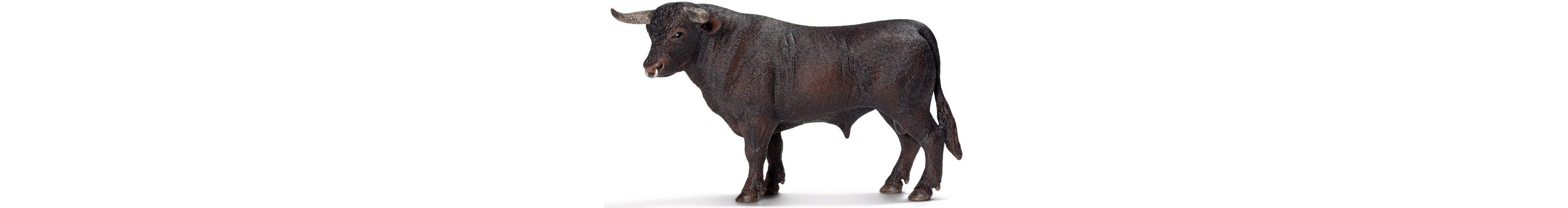 Schleich® Spielfigur, »Farm World, Schwarzer Stier«