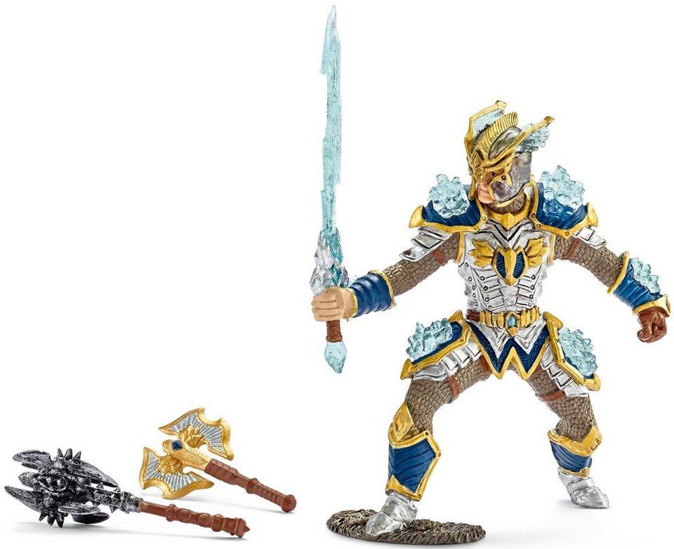 Schleich® Spielfigur, »Eldrador, Greifenritter Berikay, Held mit Waffen«