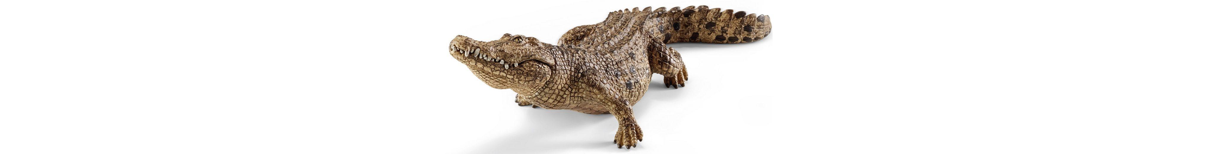Schleich® Spielfigur, »Wild Life, Krokodil«