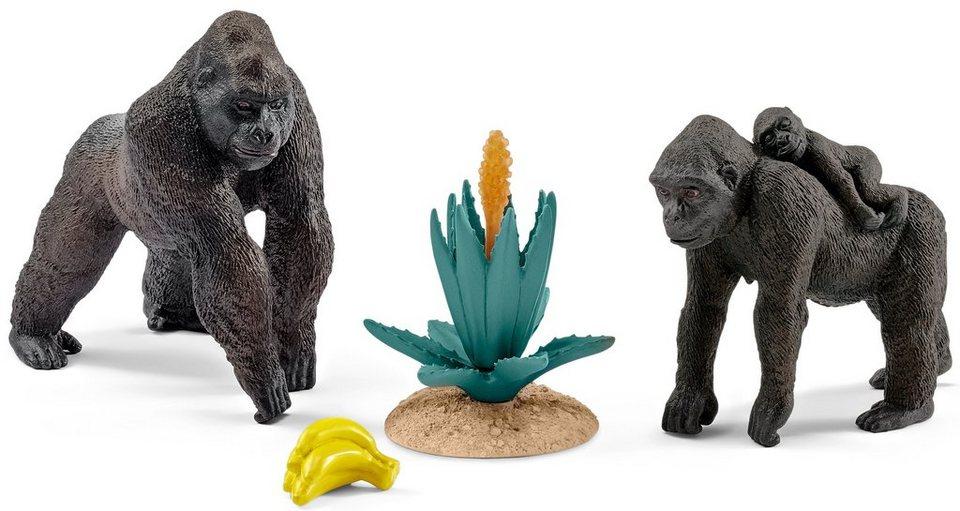 Schleich® Spielfigur (42276), »Wild Life, Gorilla Familie«