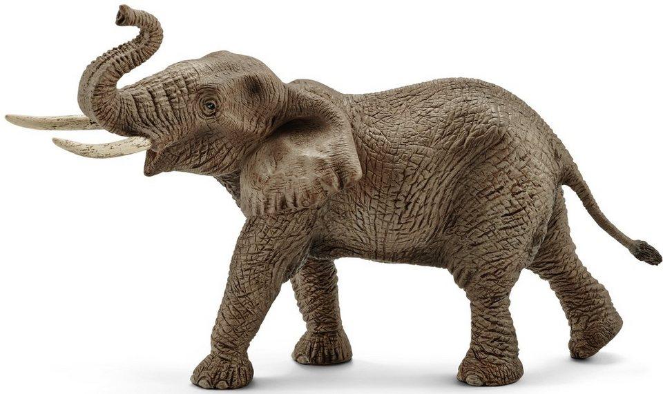 Schleich® Spielfigur, »Wild Life, Afrikanischer Elefantenbulle«