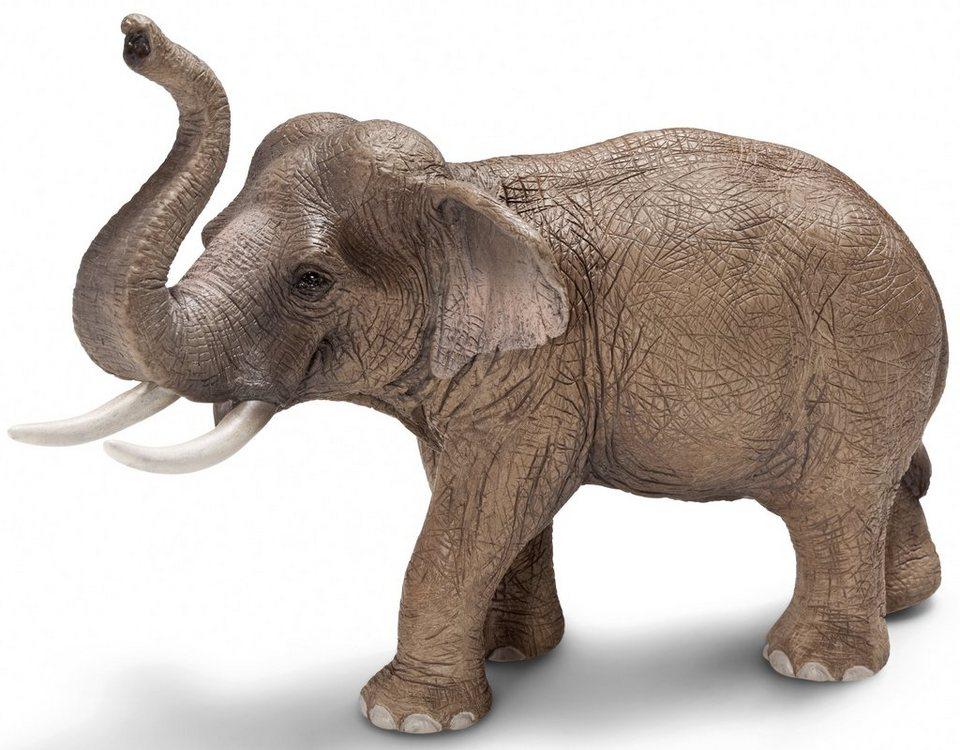 Schleich® Spielfigur, »Wild Life, Asiatischer Elefantenbulle«