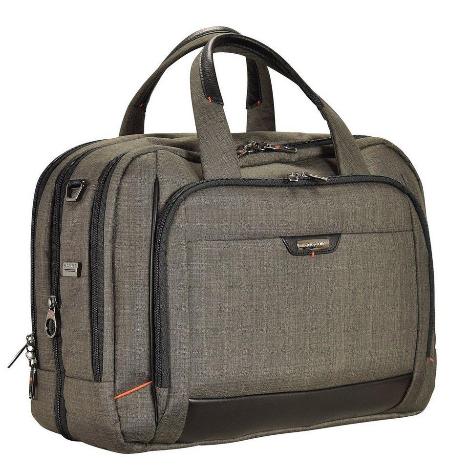 Samsonite Pro-DLX 4 Business Aktentasche 44 cm Laptopfach in warm grey