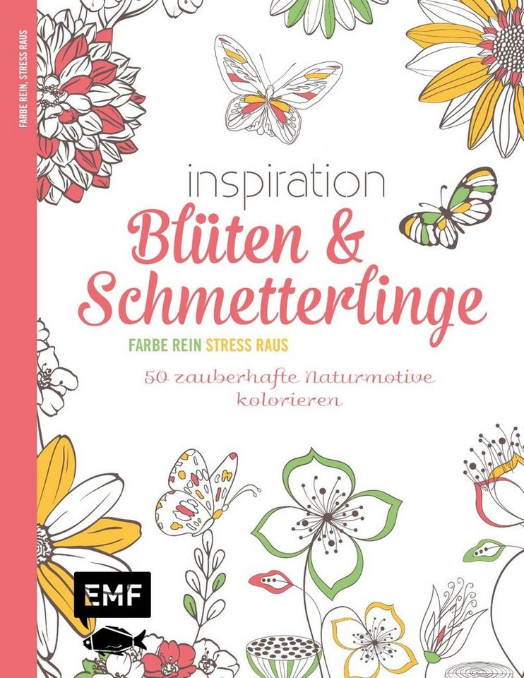 """EMF Buch """"Inspiration Blüten & Schmetterlinge"""""""
