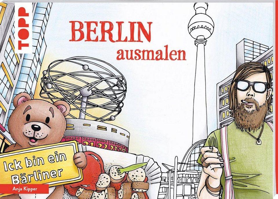 """Topp Buch """"Berlin ausmalen"""""""
