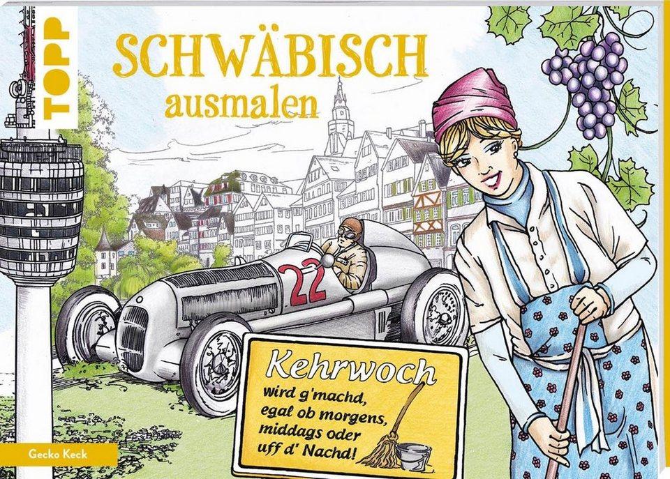 """Topp Buch """"Schwäbisch ausmalen"""""""