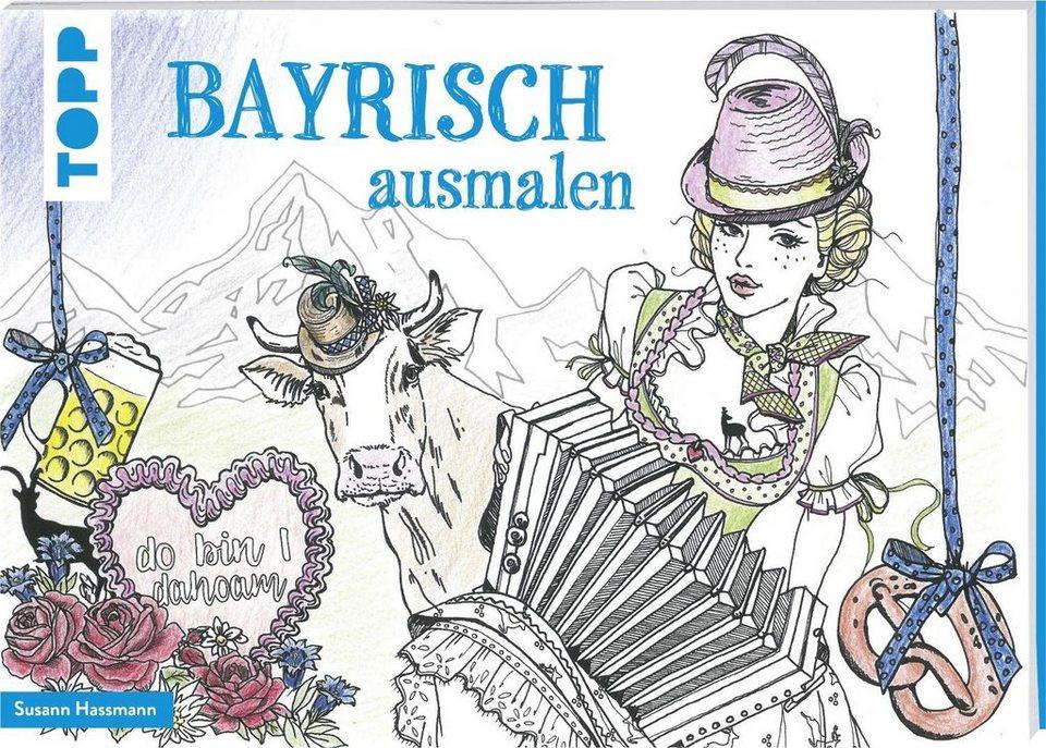 """Topp Buch """"Bayrisch ausmalen"""""""