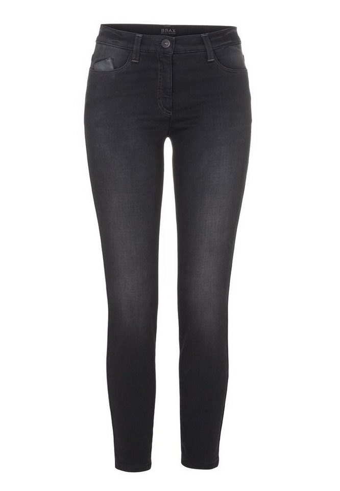 BRAX Jeans »MILA S PURE« in BLACK BLACK