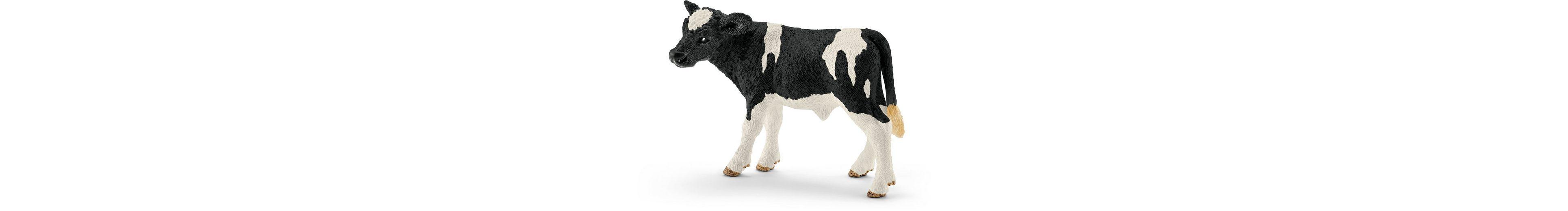 Schleich® Spielfigur, »Farm World, Kalb Schwarzbunt«