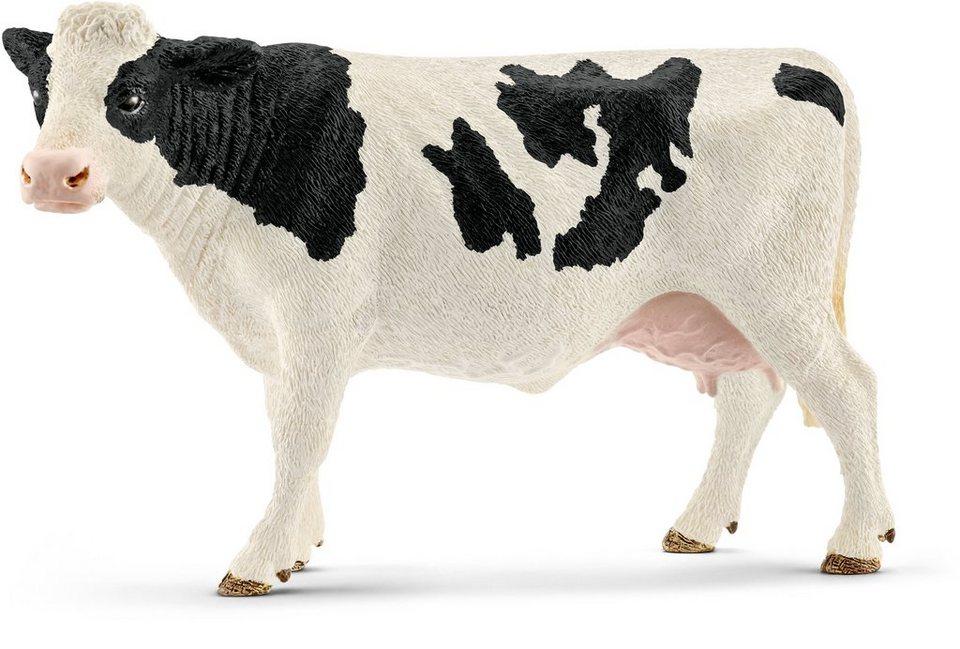 Schleich® Spielfigur, »Farm World, Kuh Schwarzbunt«