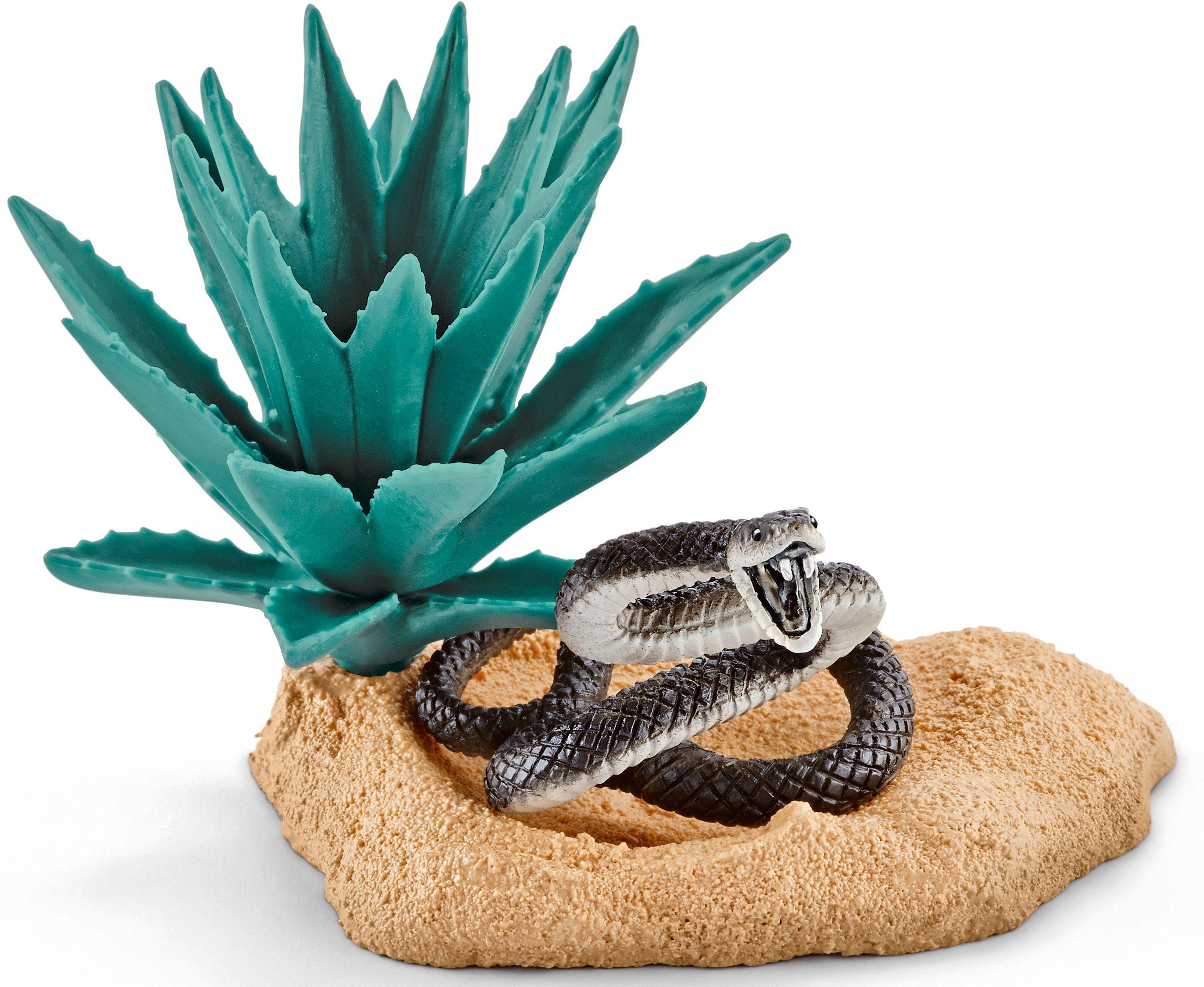 Schleich® Spielset, »Wild Life, Nest der schwarzen Mamba«