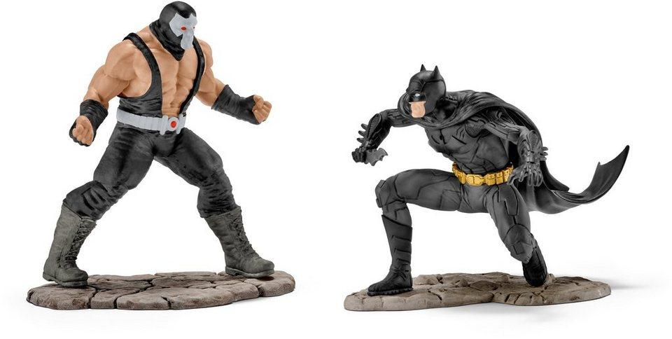 Schleich® Spielfiguren-Set (22540), »Justice League, Batman vs. Bane«