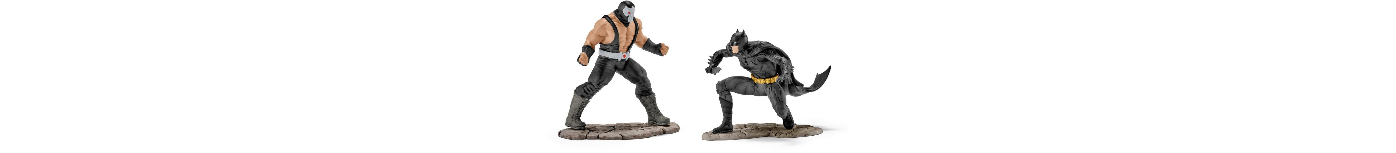 Schleich® Spielfiguren Set, »Justice League, Batman vs. Bane«