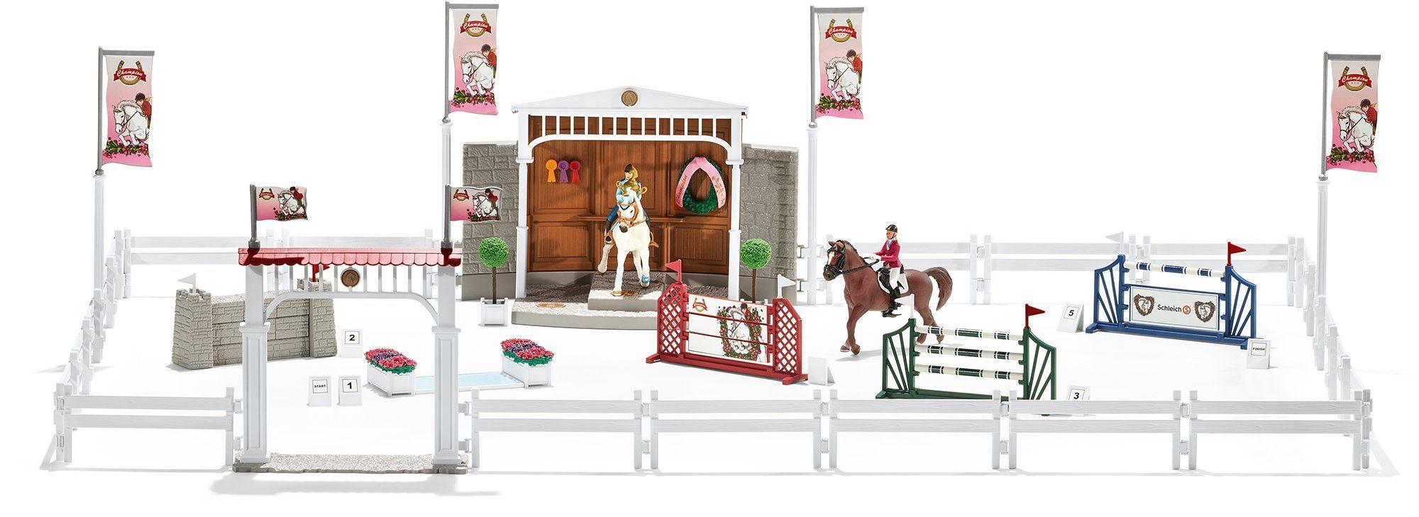 Schleich® Spielset (42338), »Horse Club, Großes Reitturnier mit Pferden«