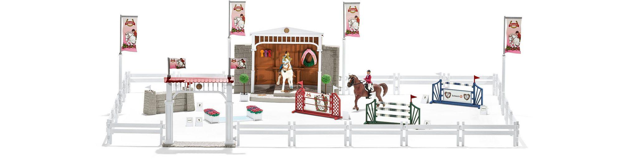 Schleich® Spielset, »Horse Club, Großes Reitturnier mit Pferden«