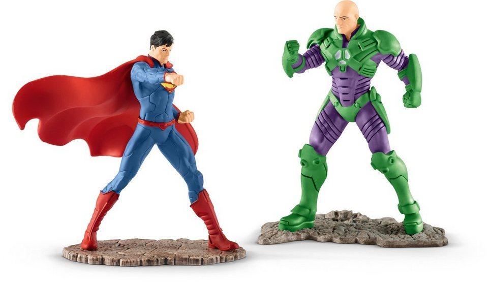 Schleich® Spielfiguren-Set, »Justice League, Superman vs. Lex Luthor«