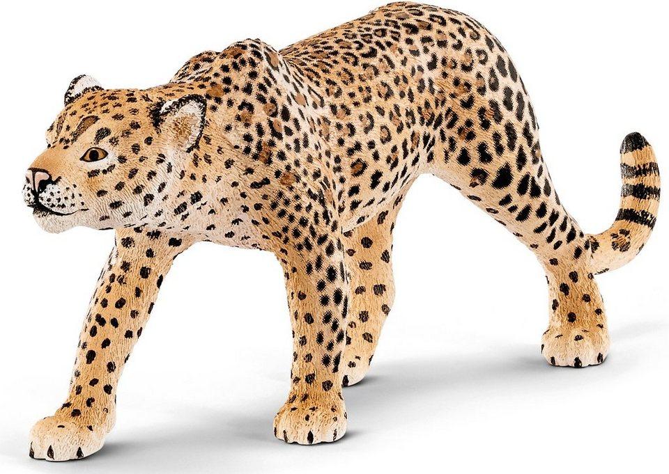 Schleich® Spielfigur, »Wild Life, Leopard«