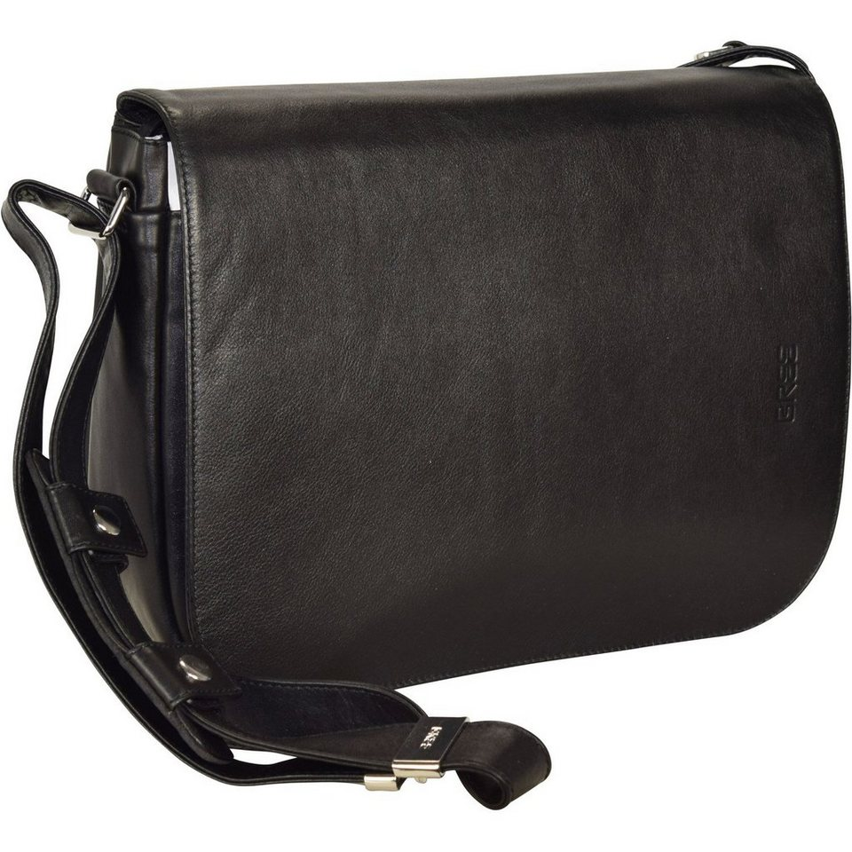 Bree Lady Top 13 Umhängetasche Leder 34 cm in black