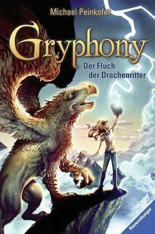 Gebundenes Buch »Der Fluch der Drachenritter / Gryphony Bd.4«