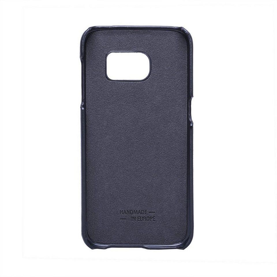 JT Berlin Handytasche »Leather Cover Style Pure für Samsung Galaxy S7« in Schwarz