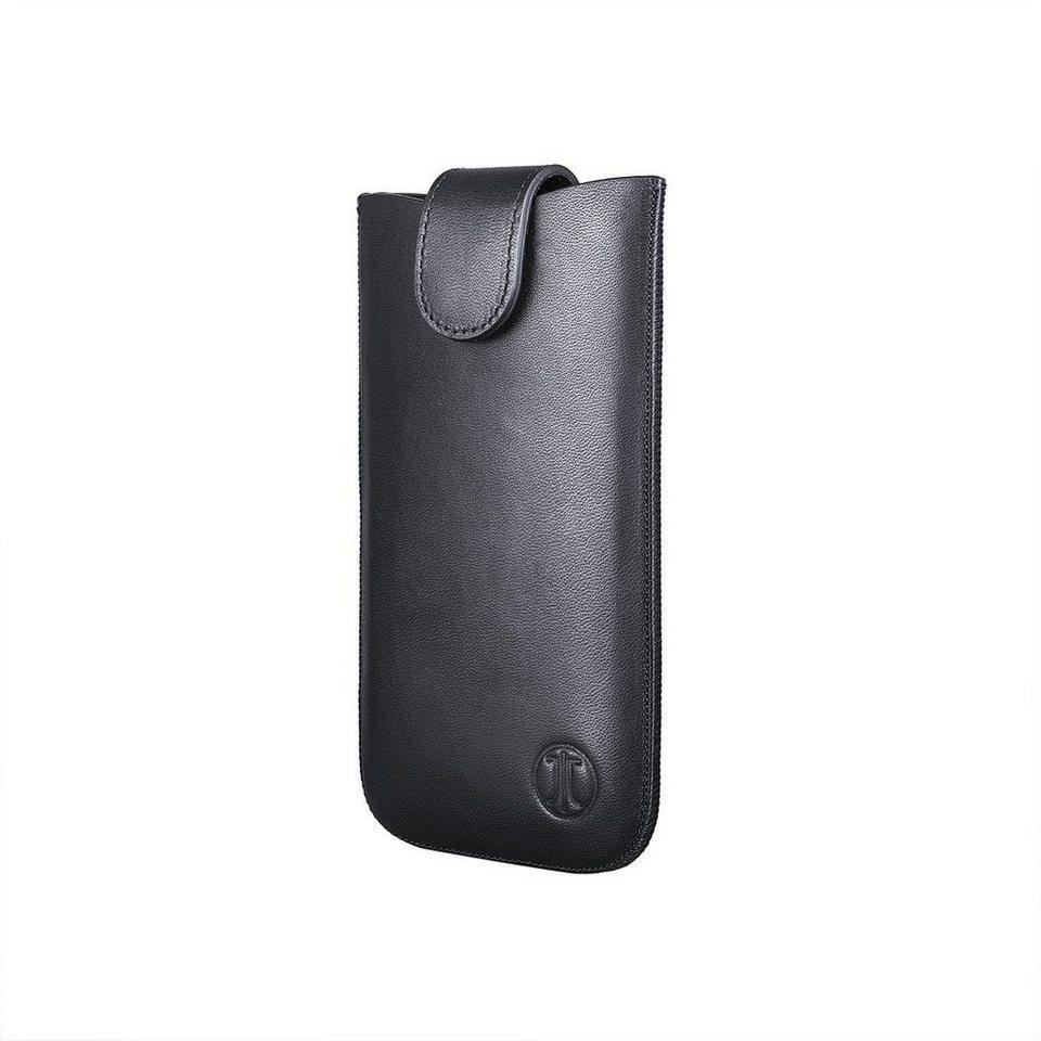 JT Berlin Handytasche »SlimCase Premium Leather Size ML« in Schwarz