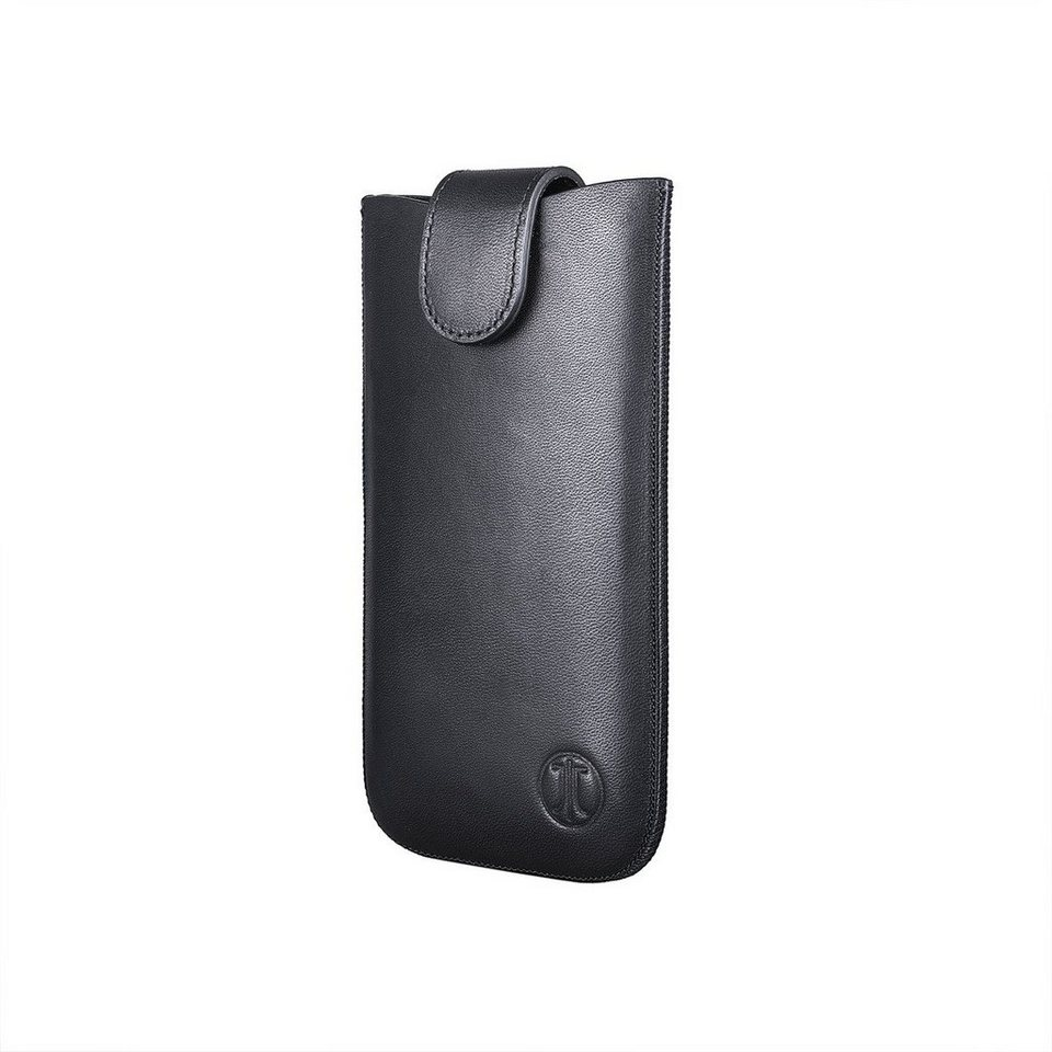 JT Berlin Handytasche »SlimCase Premium Leather Size XL« in Schwarz
