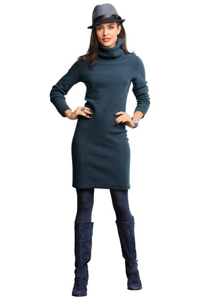 Alba Moda Strickkleid in marine