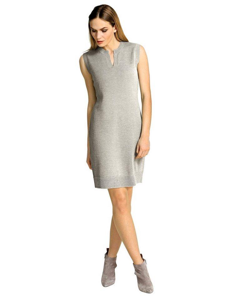 Alba Moda Kleid in silber/grau
