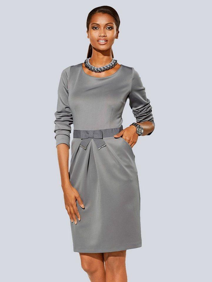 Alba Moda Kleid in grau