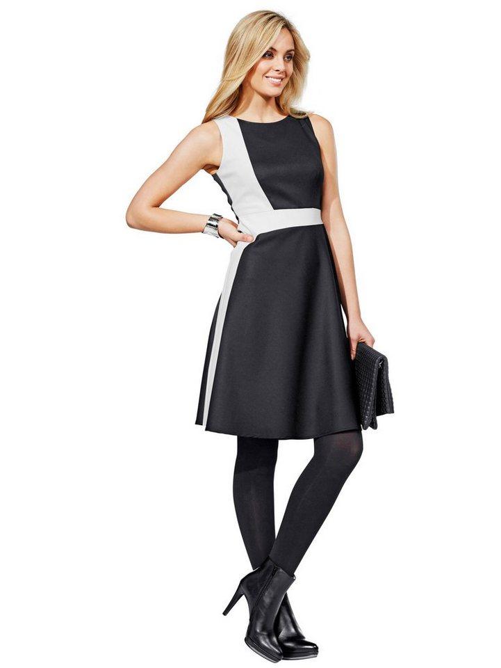 Alba Moda Kleid in schwarz/weiß