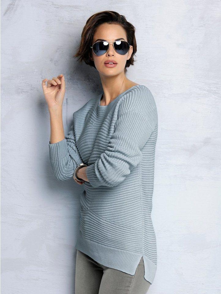 Alba Moda Pullover in bleu
