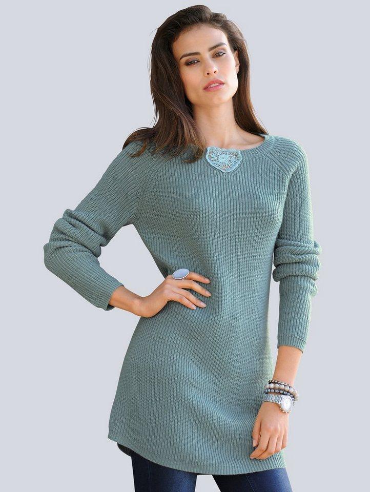 Alba Moda Pullover in jade