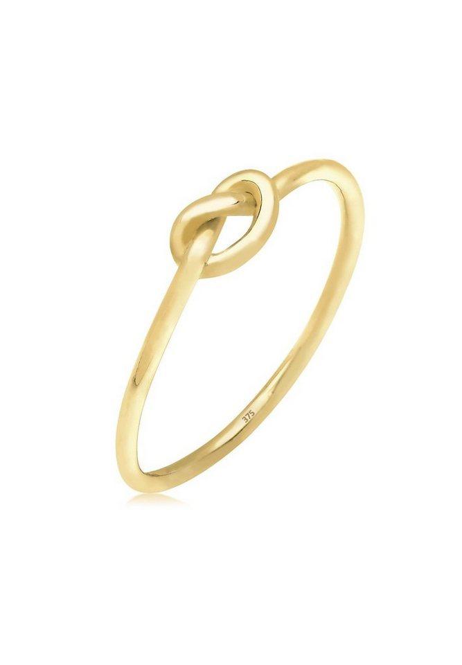 Elli Ring »Knoten Trendsymbol 375 Gelbgold« in Gold