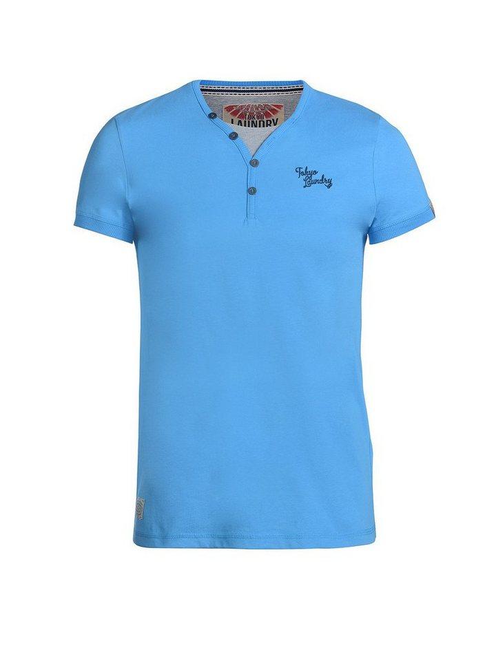 Tokyo Laundry T-Shirt »Glenbook« in blau