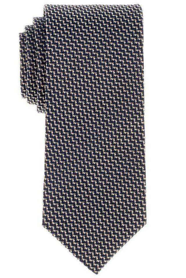 ETERNA Krawatte »breit« in blau