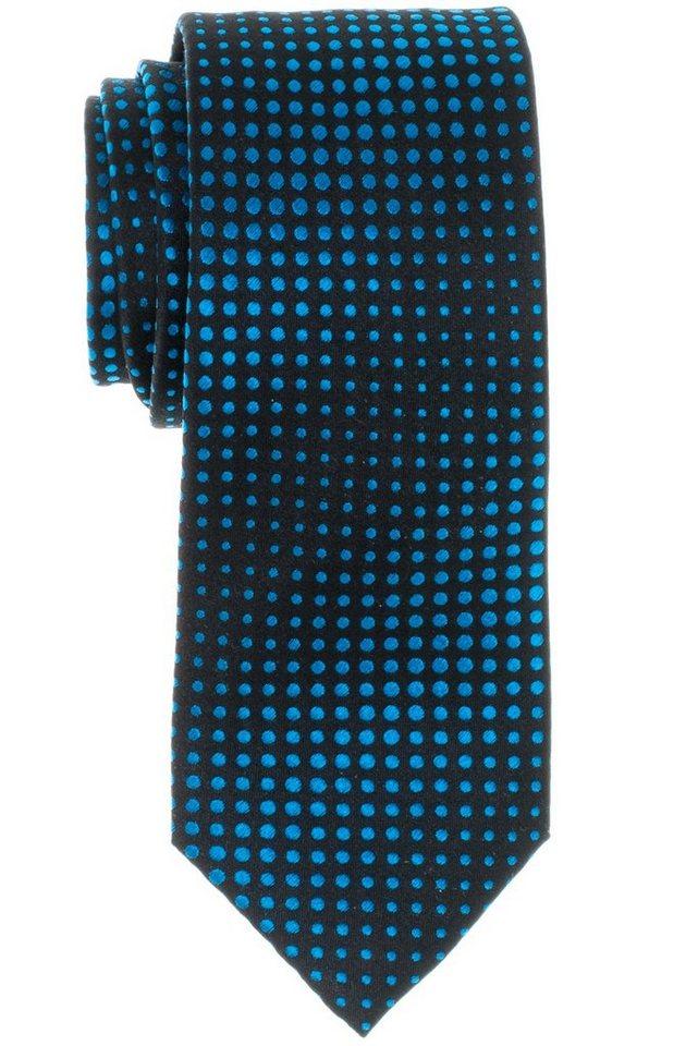 ETERNA Krawatte »breit« in grau