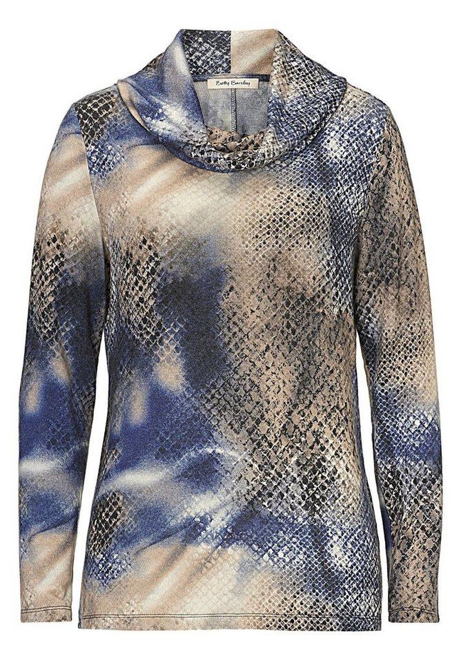 Betty Barclay Shirt in Dark Blue/Beige - Bl