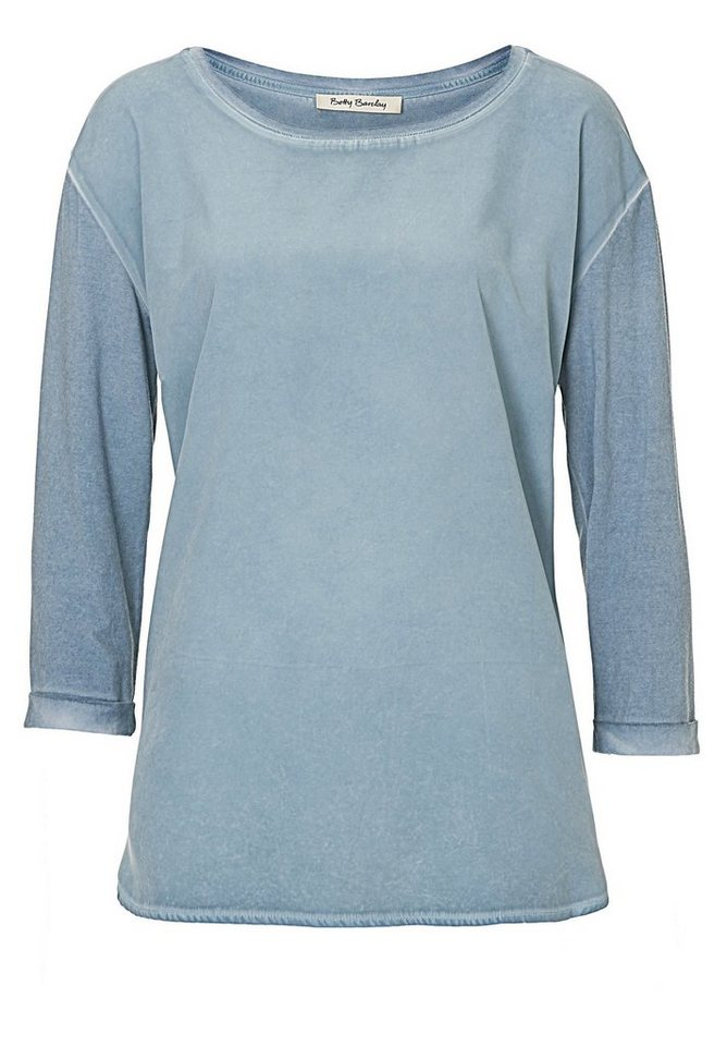 Betty Barclay Shirt in rauchblau - Bunt