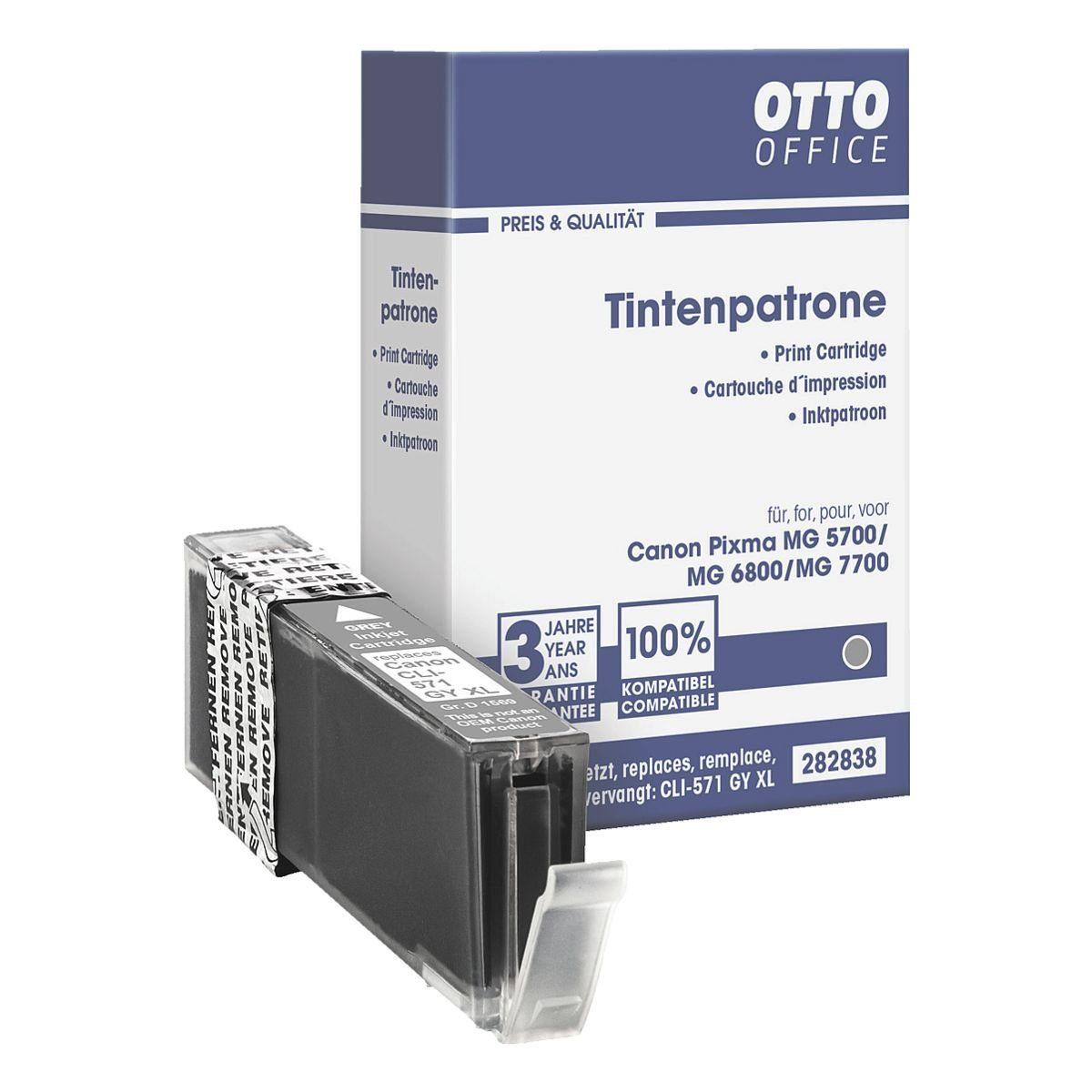 OTTO Office Standard Tintenpatrone ersetzt Canon »CLI-571 GY« XL