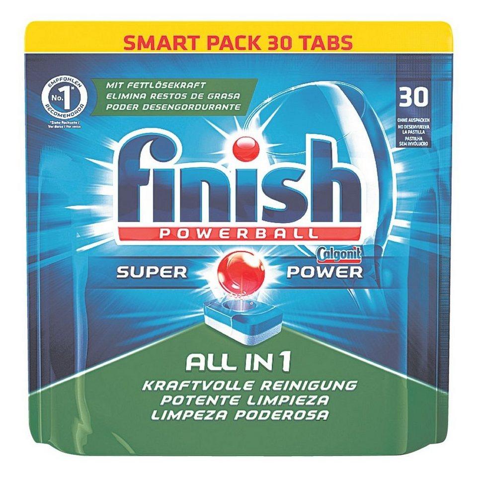 Calgonit Geschirrspülmittel »Powerball Tabs - All in 1 SUPE...