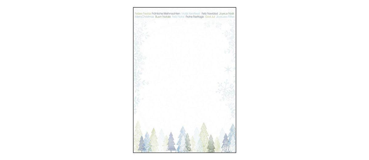 Sigel Motivpapier »Trees«