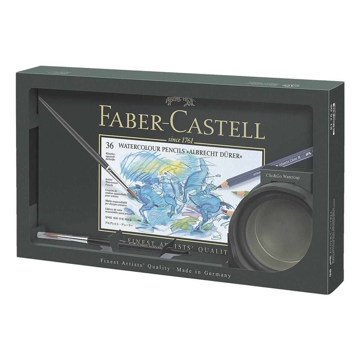 Faber-Castell Künstler-Aquarellfarbstifte inkl. Wasserbecher »Albrecht Dürer«