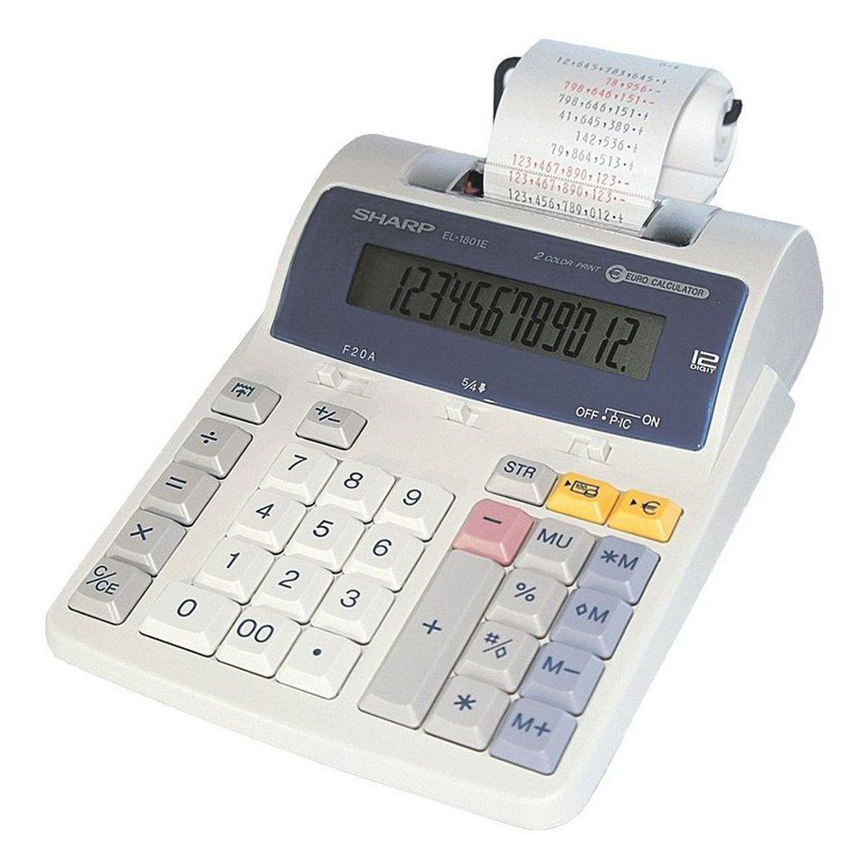Sharp Druckender Tischrechner »EL-1801E«