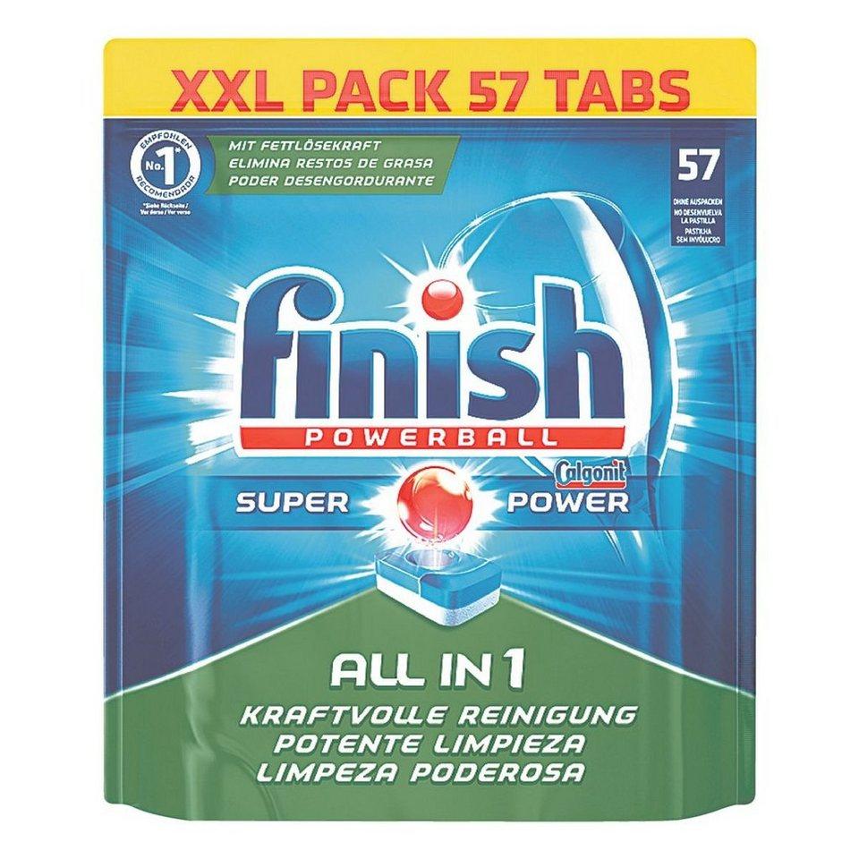 Calgonit Geschirrspülmittel »Powerball Tabs - All in 1 SUPER...