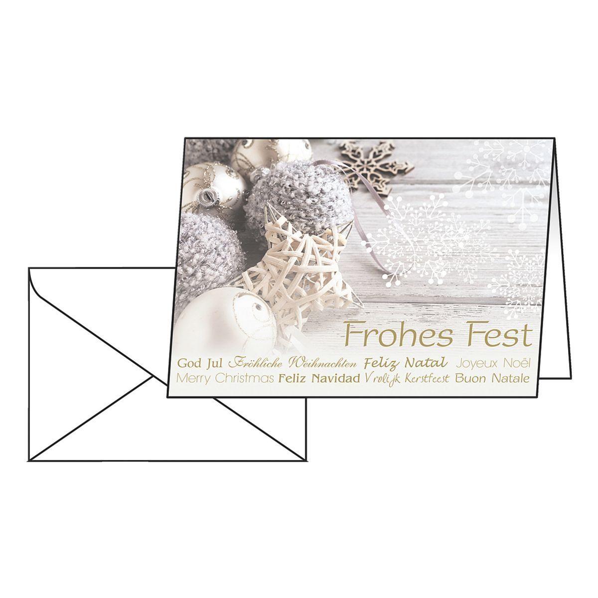 Sigel Weihnachtskarten »Christmas Feeling«