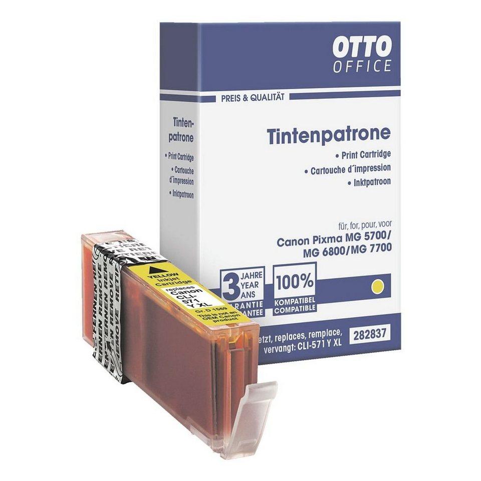 OTTO Office Standard Tintenpatrone ersetzt Canon »CLI-571 Y« XL