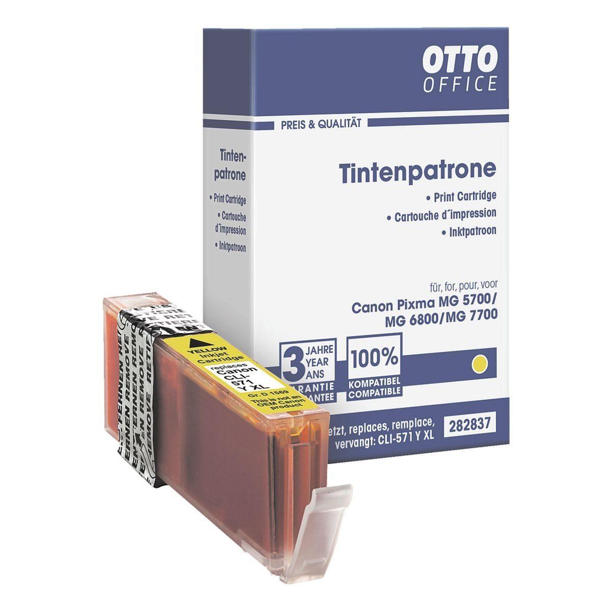 OTTO Office Tintenpatrone ersetzt Canon »CLI-571 Y« XL