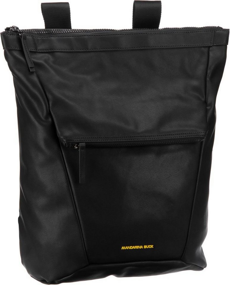 Mandarina Duck Polygon Backpack T01 in Black
